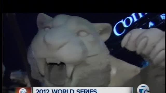 Excitement building for the World Series in Detroit