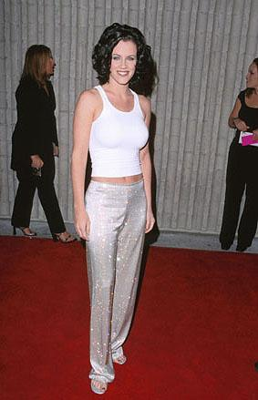 Jenny McCarthy at the premiere for Dimension's Scream 3