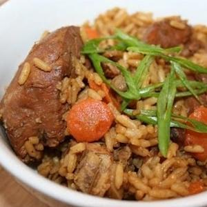 Caribbean Chicken Pelau Recipe