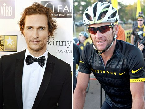"Matthew McConaughey on Lance Armstrong's Doping Scandal: ""He Told a Lie, He's Not a Liar"""