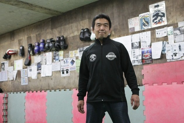 Yuki Nakai at his Paraestra gym in Tokyo, where Shinya Aoki honed his craft. (ONE FC Photo)