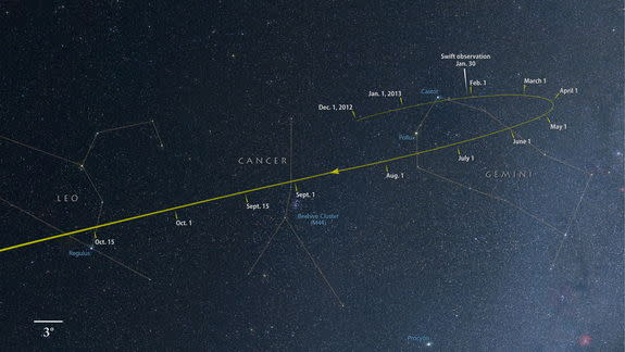 NASA Spacecraft Snaps New Photo of Potential 'Comet of the Century'