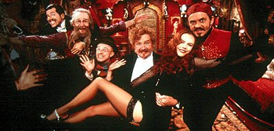 John Leguizamo , Garry McDonald , Matthew Whittet , Jim Broadbent , Nicole Kidman and Jacek Koman in 20th Century Fox's Moulin Rouge