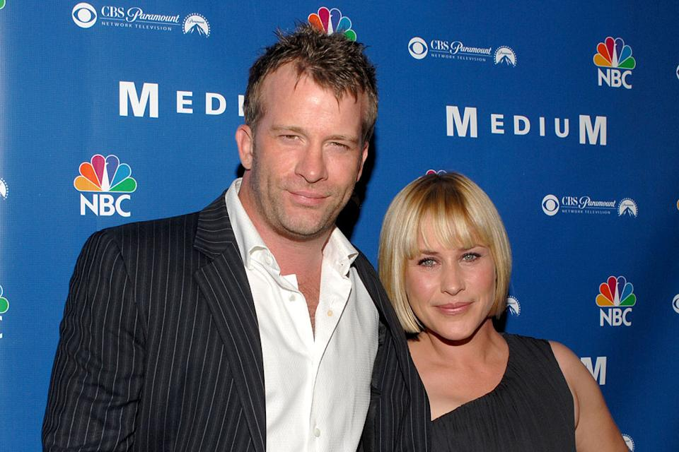 "Thomas Jane and Patricia Arquette NBC Hosts ""Medium"" Supernational Soiree Stephen Cohen Gallery  Beverly Hills, California United States October 26, 2006 Thomas Jane"