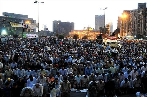 Thousands in Cairo protest high court ruling