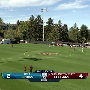 Recap: Washington State women's soccer tops UCLA behind season-high 4 goals