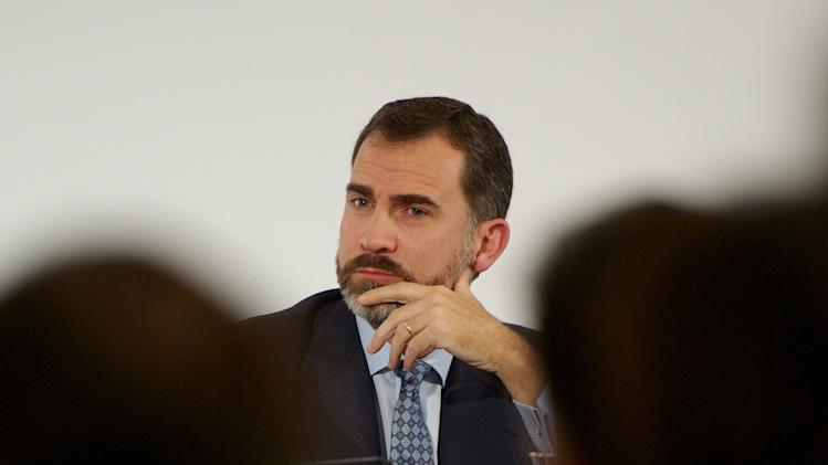 Prince Felipe of Spain Attends 'Spain Investors Day' in Madrid