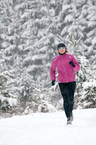 Struggling to stick to your training plan this winter? Here's what to do when the weather takes a turn for the Arctic.