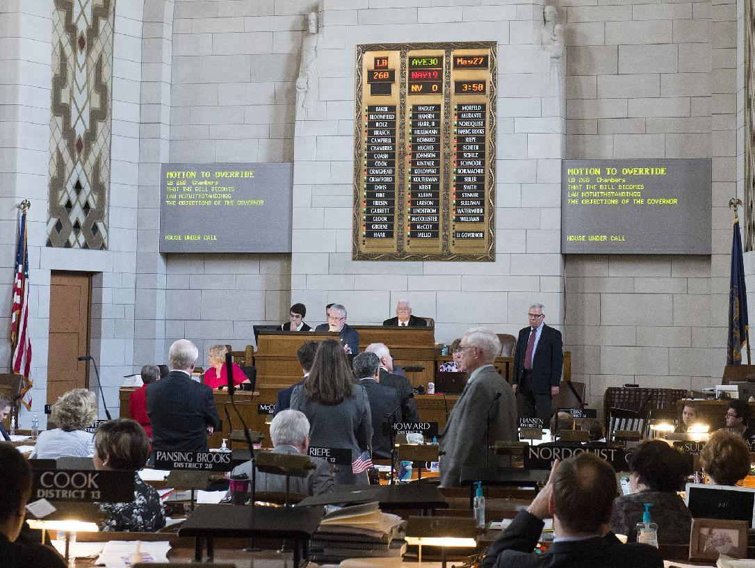 Nebraska death penalty backers consider challenges to repeal