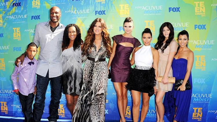 Odom Kardashians Teen Choice Awards
