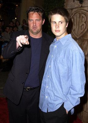 Matthew Perry and brother Will at the Westwood premiere of Warner Brothers' Harry Potter and The Sorcerer's Stone