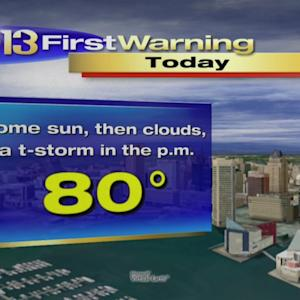 Meteorologist Tim Williams Has Your Friday Morning Forecast