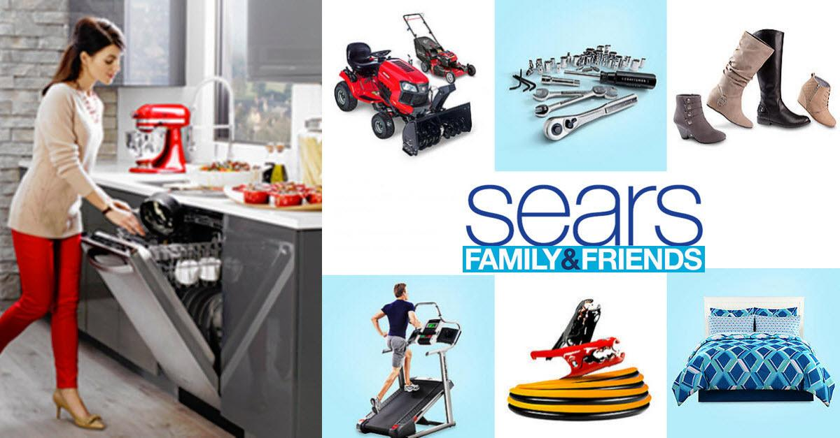 Shop Discounts with Sears® Family & Friends Sale!
