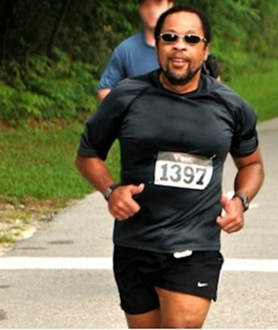 Running helped Ruffian Rhodes build a new future and lose 80 pounds!