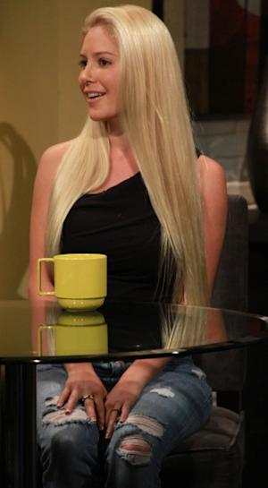 Heidi Montag visits Access Hollywood Live on October 18, 2012 -- Access Hollywood