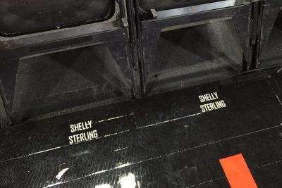 The name of Donald Sterling's estranged wife is on the Clippers' new floor