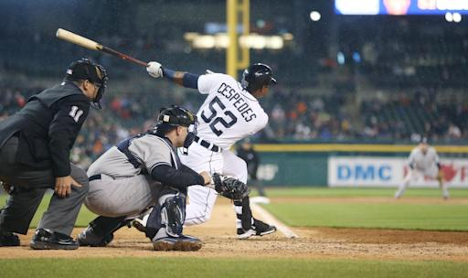 Tigers rally in 7th, Simon sharp in 2-1 win over Yankees
