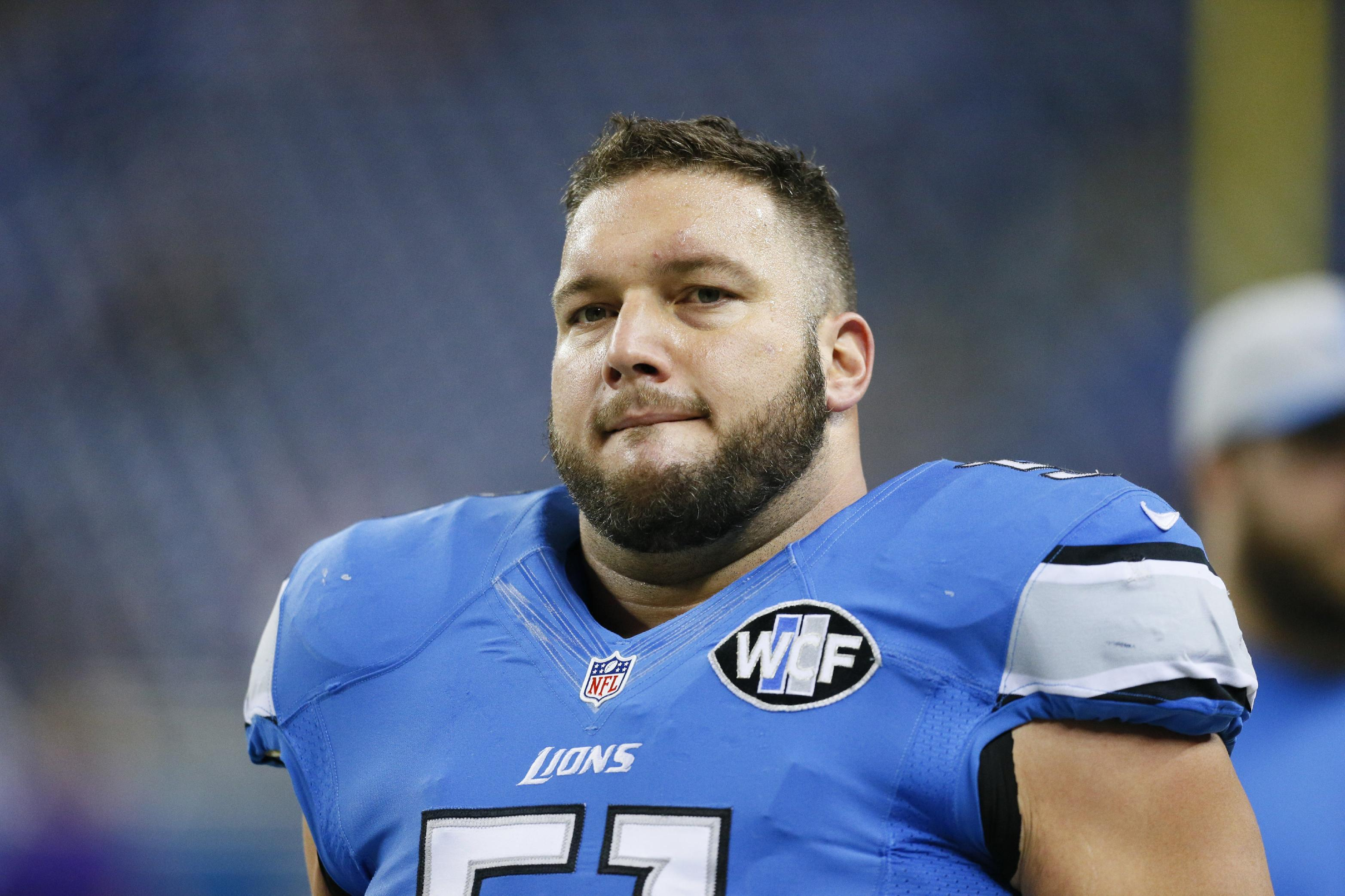 Lions' Raiola suspended 1 game for stepping on opponent