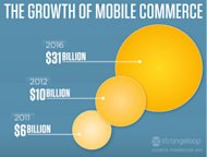 Mobile E Commerce Sales Reached New Heights During 2012 image mcommerce growth