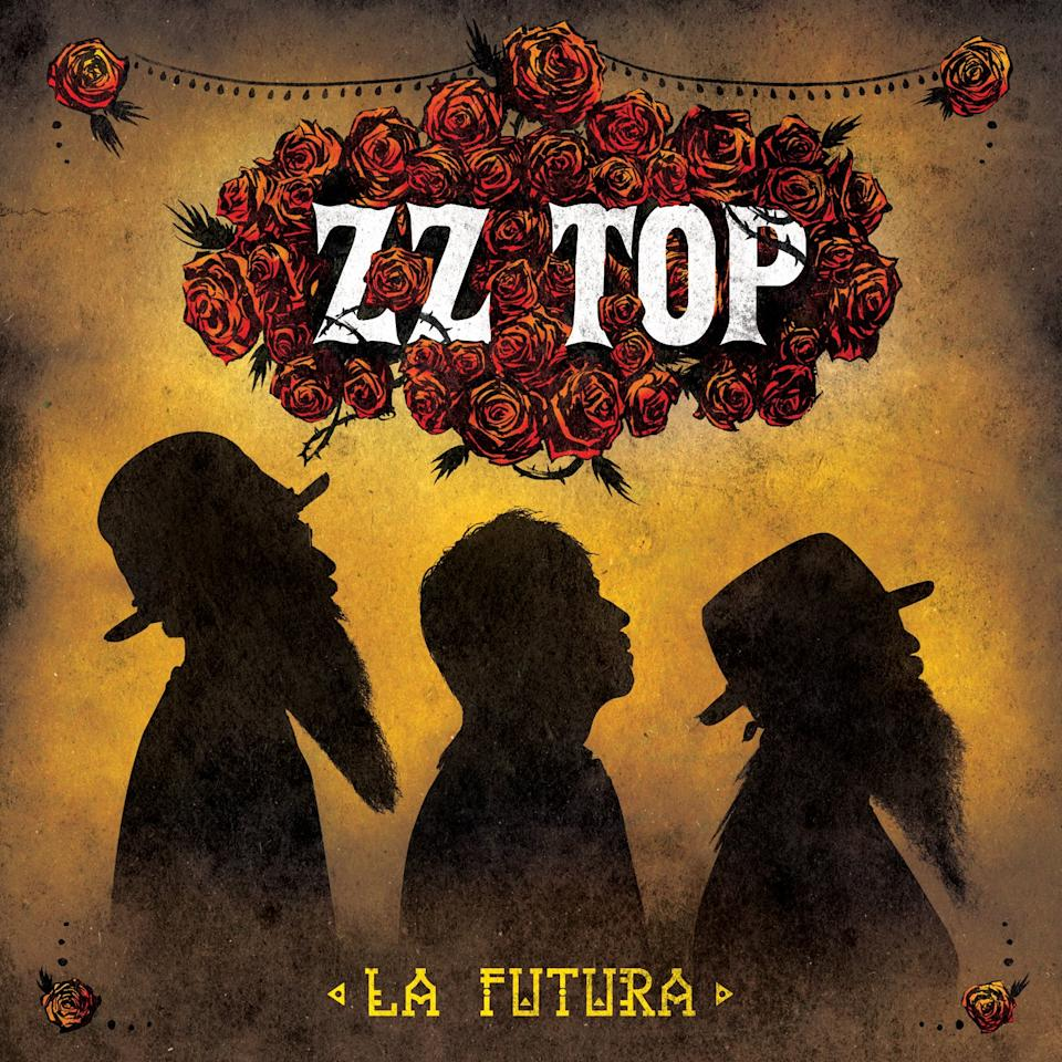 "This CD cover image released by Universal Republic shows the latest release by ZZ Top, ""La Futura."" (AP Photo/Universal Republic)"