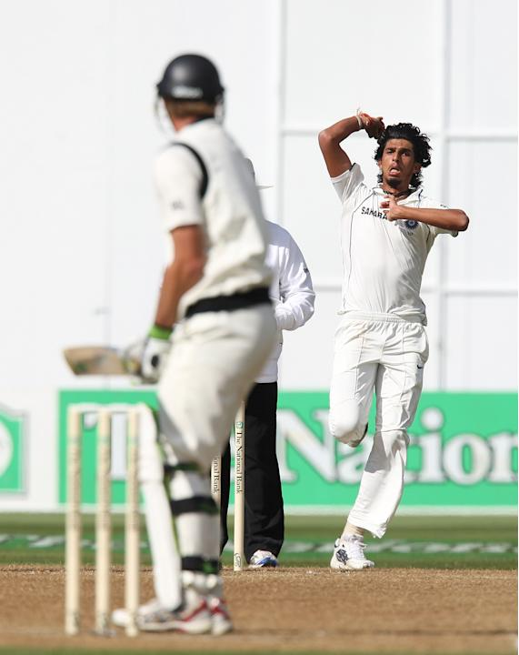 Third Test - New Zealand v India: Day 2