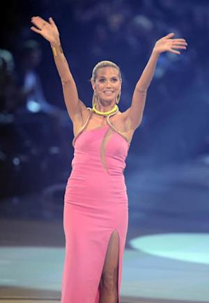 Heidi Klum seen during the finale of 'Germany's Next Top Model' on May 30, 2013 in Mannheim, Germany  --