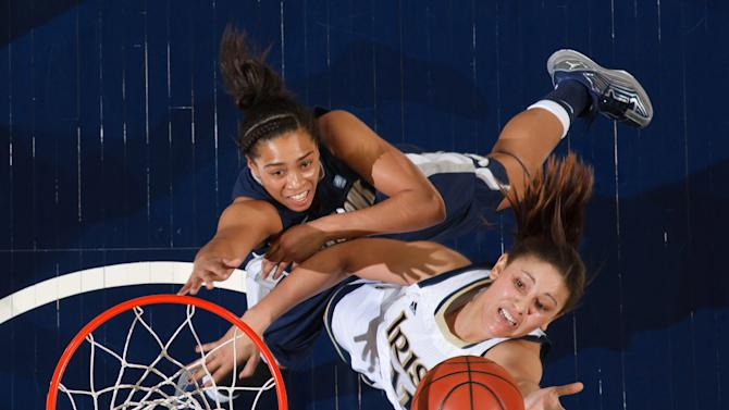 NCAA Womens Basketball: Georgetown at Notre Dame