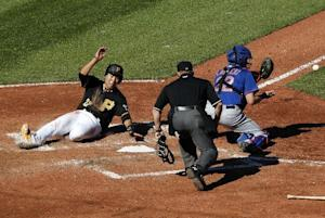 Burnett sparkles as Pirates hand Mets, Harvey 8-2  …