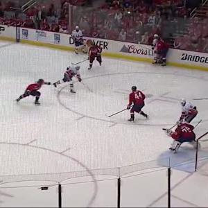 Tavares finds Bailey for opening goal on Holtby