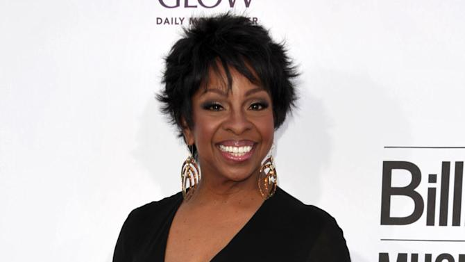 """FILE - This May 20, 2012 file photo, singer Gladys Knight arrives at the 2012 Billboard Awards at the MGM Grand in Las Vegas, Nev. Centric announced Wednesday, July 11, that Knight will work as the """"lead judge"""" on """"Apollo Live."""" The new series is a singing competition at New York's famed Apollo Theater and puts a new spin on the venue's popular """"Amateur Night"""" showcase. It will debut in the fall. (Photo by John Shearer/Invision/AP)"""