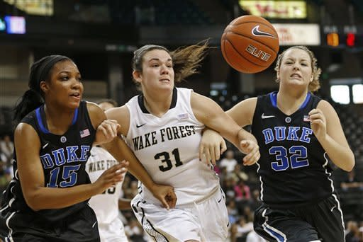 No. 4 Duke women beat Wake for 38th straight time