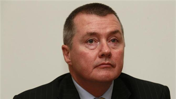 Chief Executive Willie Walsh of IAG attends a news conference in London
