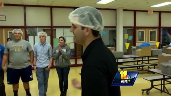 Students in Columbia work to feed the hungry