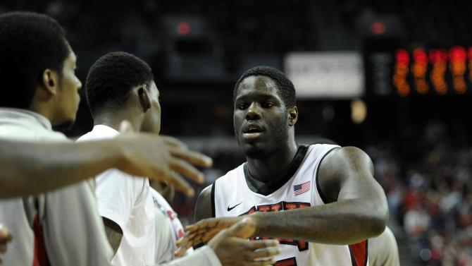 NCAA Basketball: New Mexico at UNLV