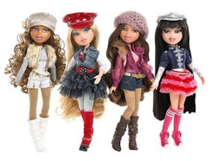 Modest and preppy Bratz dolls. Pants that cover anything sold separately.
