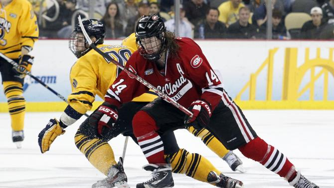 2013 NCAA Division I Men's Hockey Championships Ð Semifinals