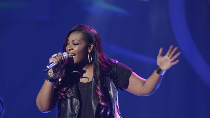 """American Idol"" Top 9 - Candice Glover"