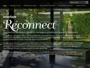 "Interface ""Reconnect Your Space"" Competition Invites Designs for Humans' Deep Seated Love of Nature"