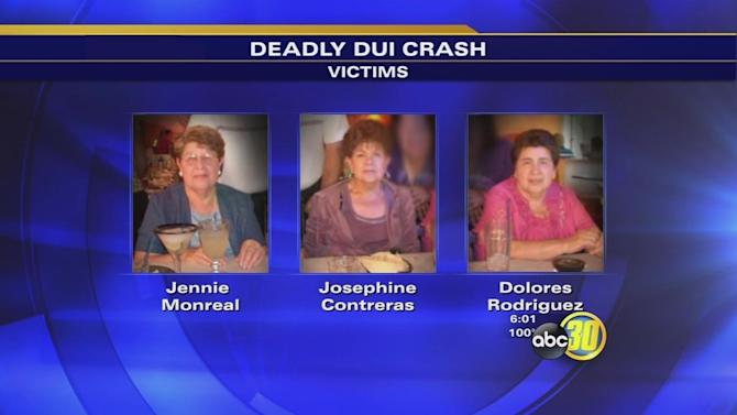 Survivor's message for DUI driver who killed 3 sisters
