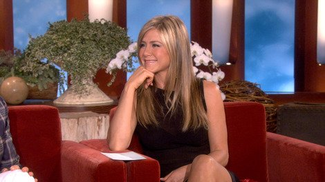 Jennifer Aniston Prepares to Co-Host 'Ellen'