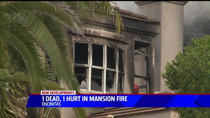 Mansion Fire In Encinitas Leaves 23 Year Old Woman Dead