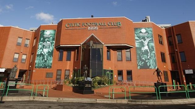 Celtic have closed off part of their ground