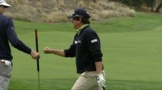 Dufner birdies No. 14  in Round 1 of World Challenge