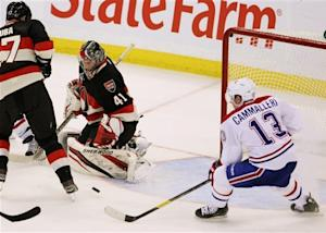 Habs tops Sens for Cunneyworth's first NHL win