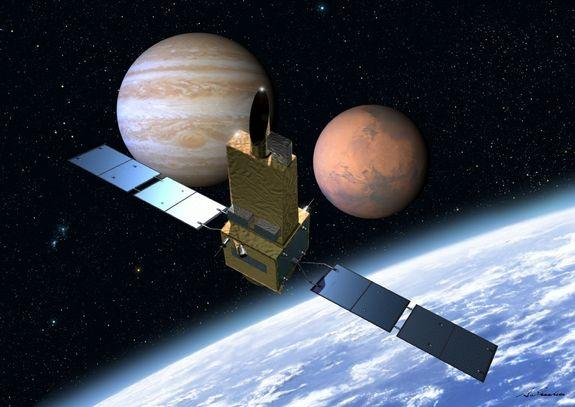 Japanese Satellite to Spy On Other Planets from Earth Orbit