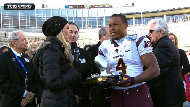 Arizona State on winning the Sun Bowl