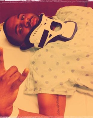 Jason Derulo Fractures Neck During Tour Rehearsals!