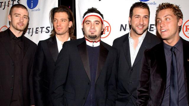 'N Sync Reunites for Kirkpatrick Wedding