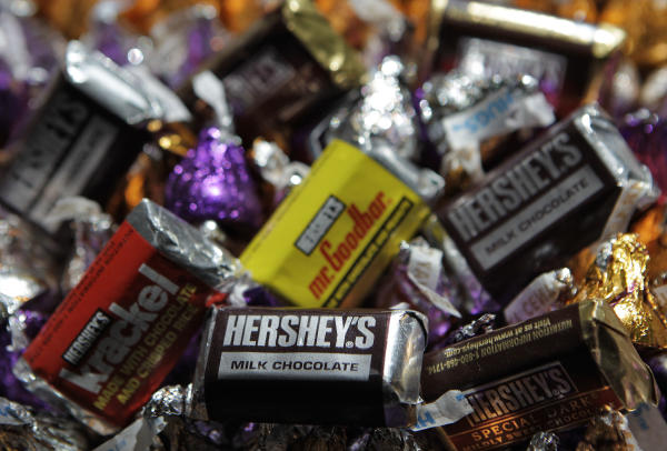 Hershey CEO fights hunger in Africa, preps for a busy Halloween in U.S.