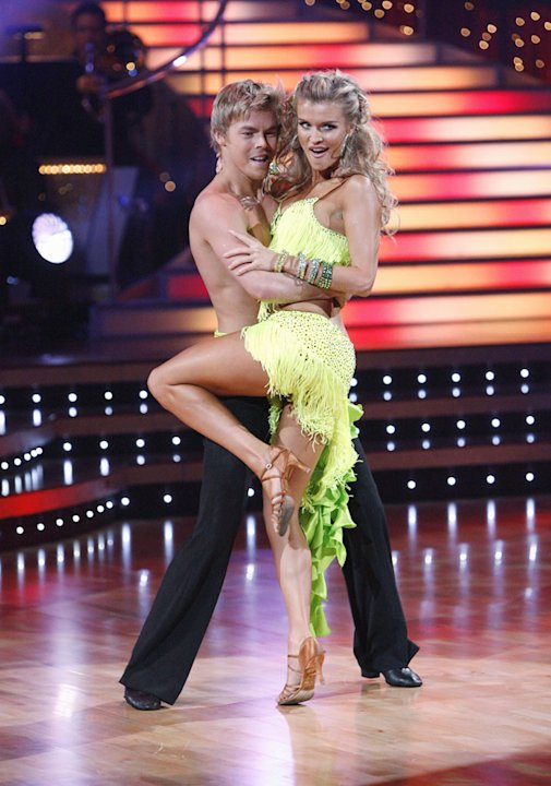 Joanna Krupa and Derek Hough perform on &quot;Dancing with the Stars.&quot; 